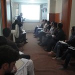 Mawlana Abdullah Mohammad  during a speech for Human Rights Training Participants